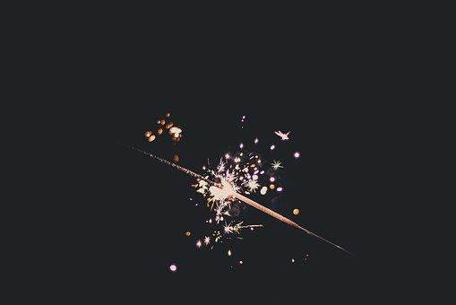 Bright, Sparkler, Celebrate, Celebration