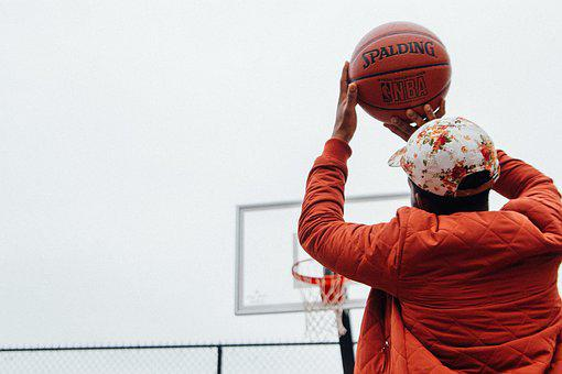 Action, Basketball, Ball, Athlete, Cap