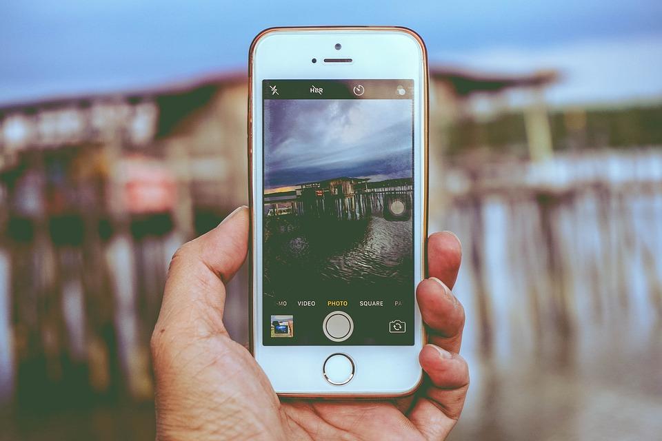 Apple, Hand, Iphone, Macro, Mobile Phone, Screen