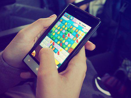 Candy Crush, Device, Electronics, Game