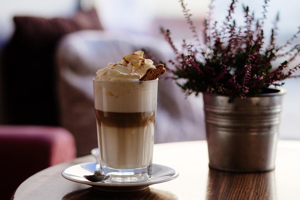 Размазване, Капучино, Шоколад, Кафе, Крем, Чаша