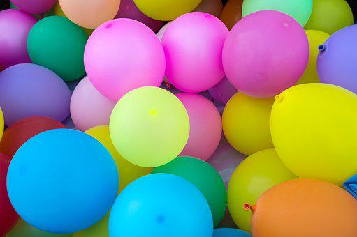 Balony Dzieci Kolorowe Balony Kolorów Fies