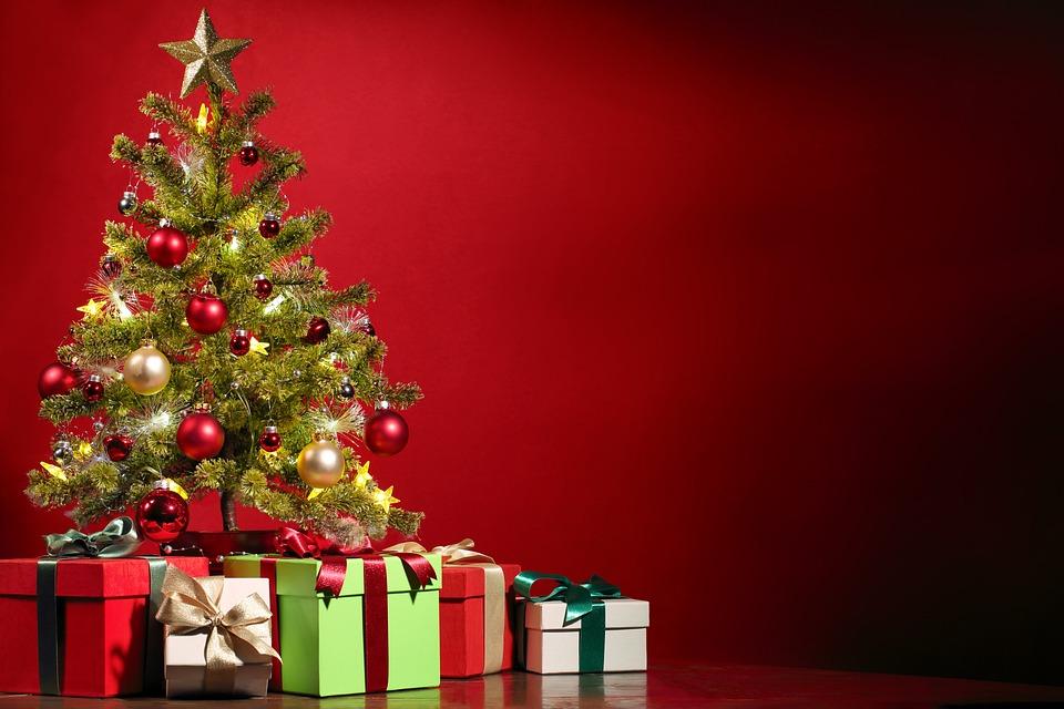 クリスマス, クリスマス ツリー, 飾る, 装飾, ギフト, プレゼント