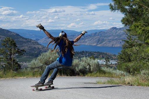 Skateboard Longboard Skater Skateboard Ska