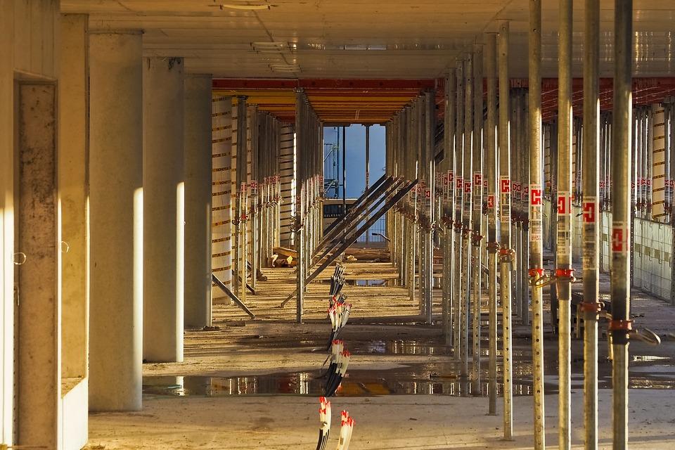 Construction Site Build Building House Construction