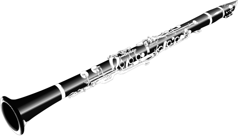 クラリネット, 管楽器, 音楽, 再生, 楽器, のサウンド, シルバー, 木管楽器, 黒, 木, クラシック