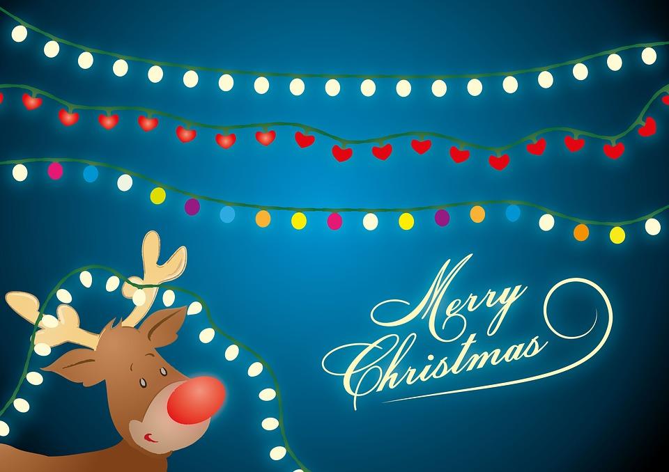 Lichterkette Weihnachten Rudolph · Kostenloses Bild auf Pixabay