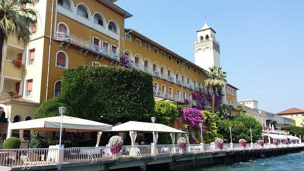 Gardone, Lake Garda, Italy, Summer