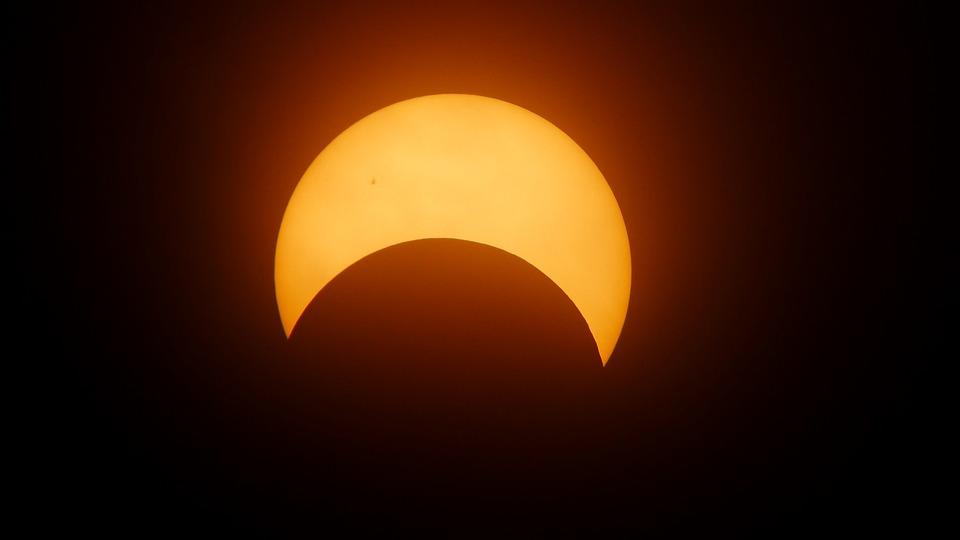 日食, 太陽, 黒い太陽