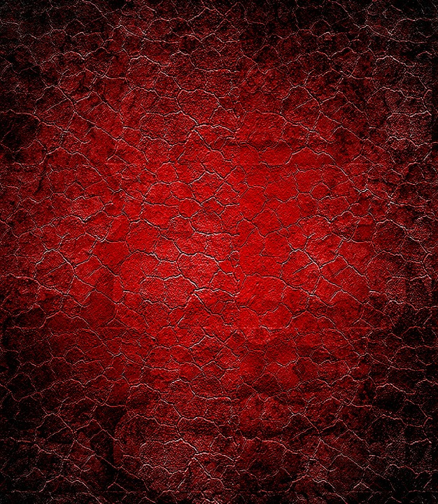 free illustration: red, grunge, texture, black - free image on