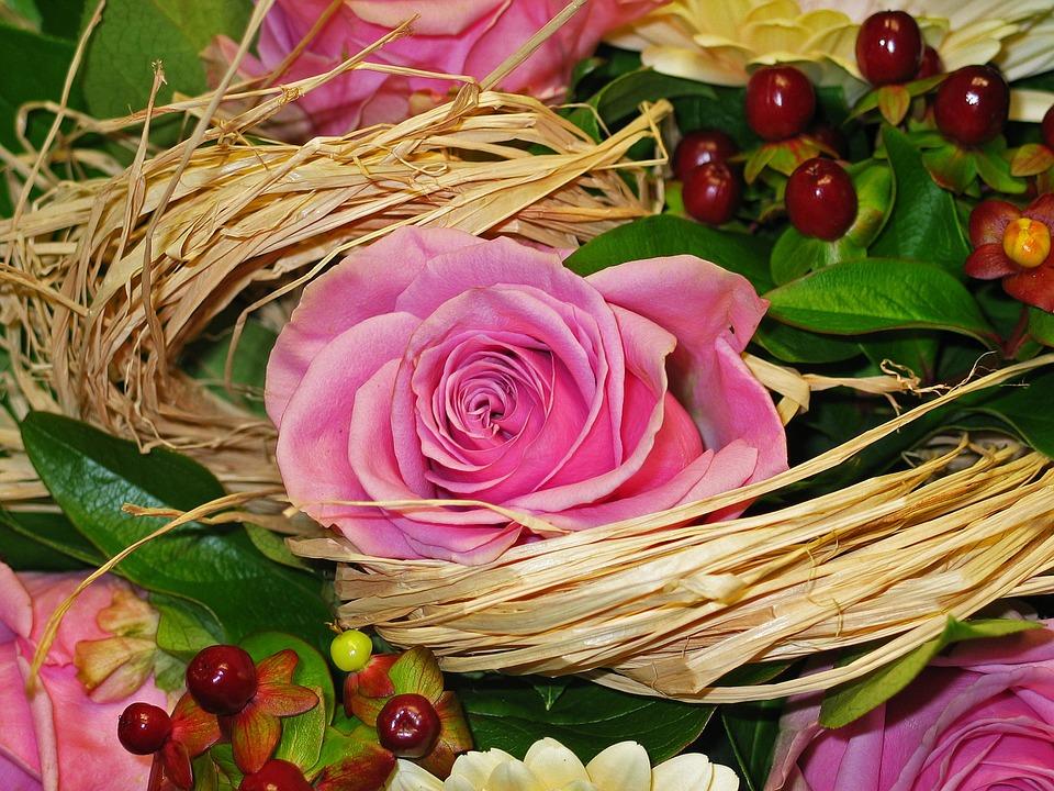 Estremamente Foto gratis: Mazzo, Fiori, Bouquet Di Fiori - Immagine gratis su  VF21