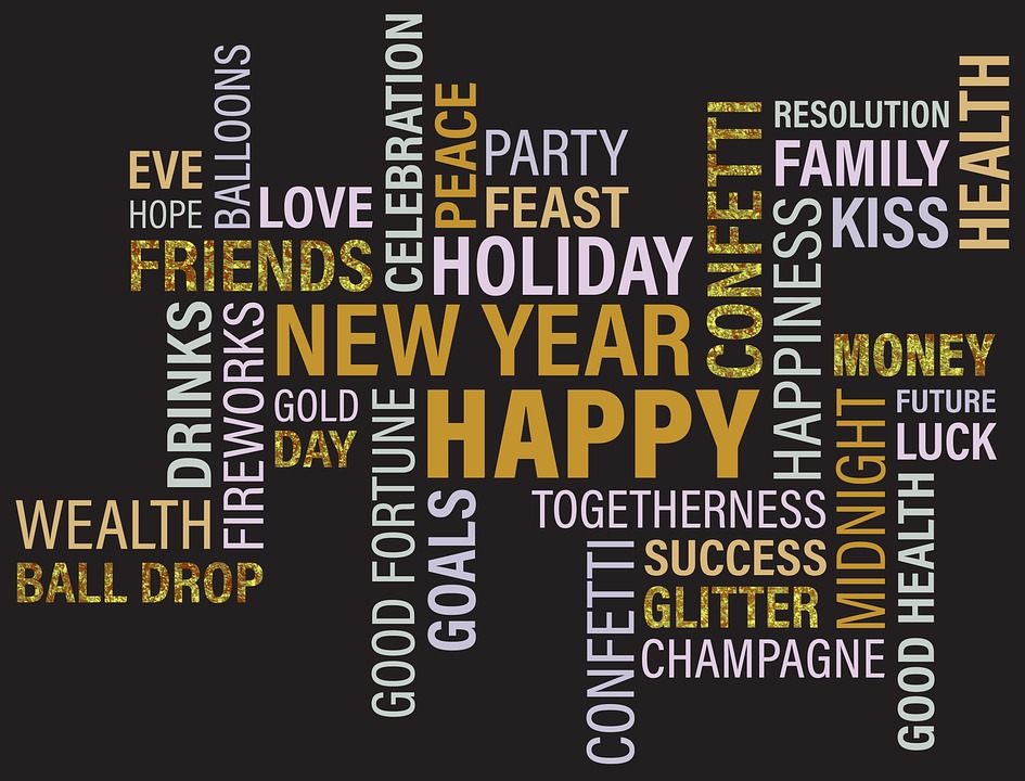 New Year Gold · Free image on Pixabay