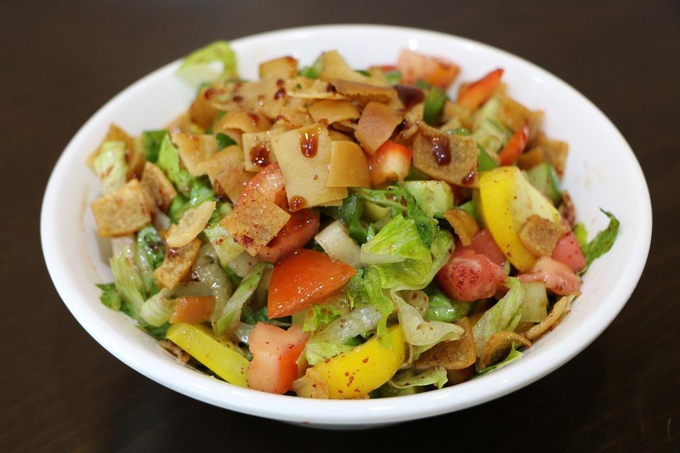 Starter, Food, Arabic, Salad