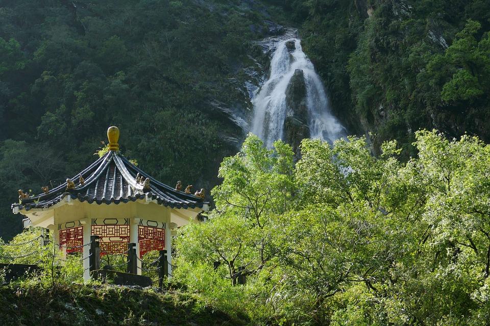 Taiwan, China, Turismo, Taroko, Desfiladeiro