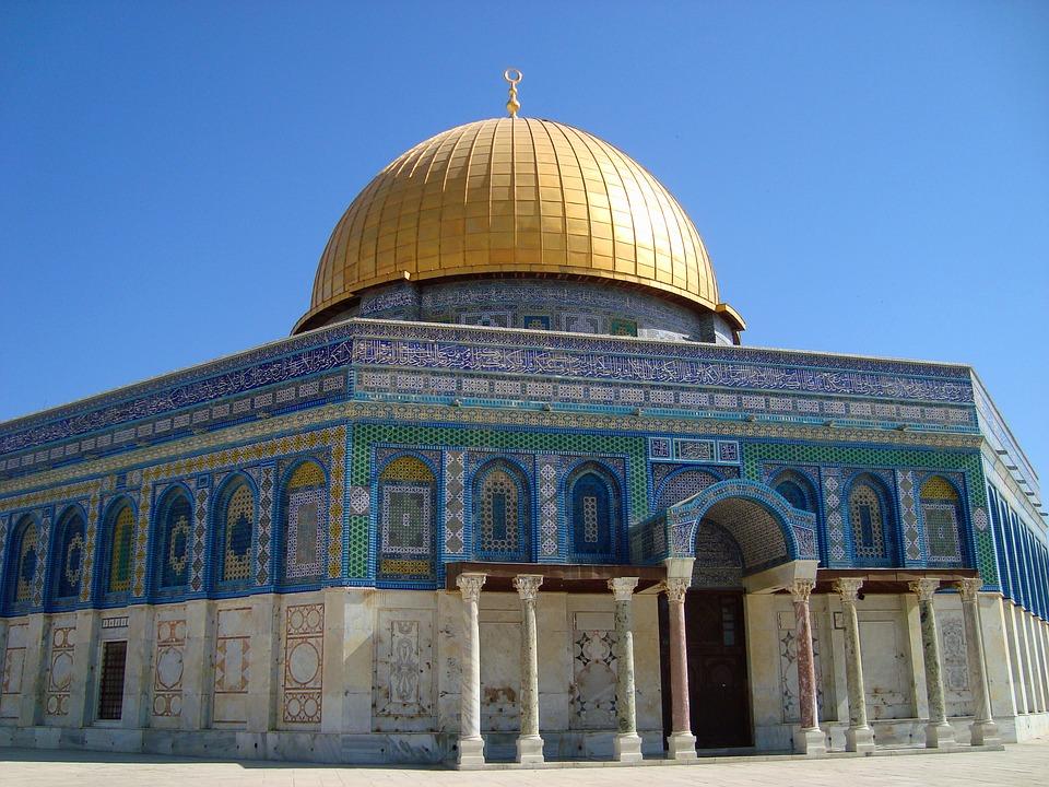 gratis billede klippemoskeen jerusalem israel gratis