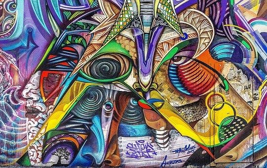 Graffiti, Achtergrond, Grunge