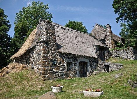 Cottage House Thatch Pierre Cottag