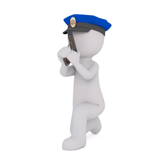 free illustration  police officers  white male