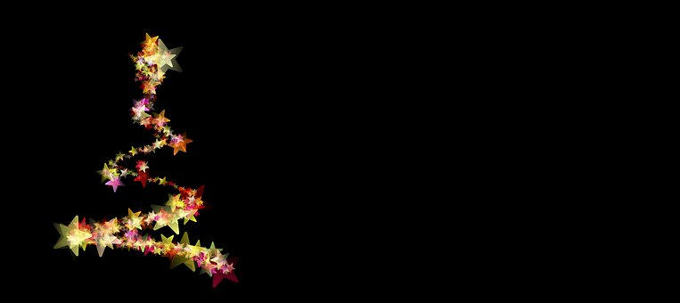 Christmas, Abstract, Background