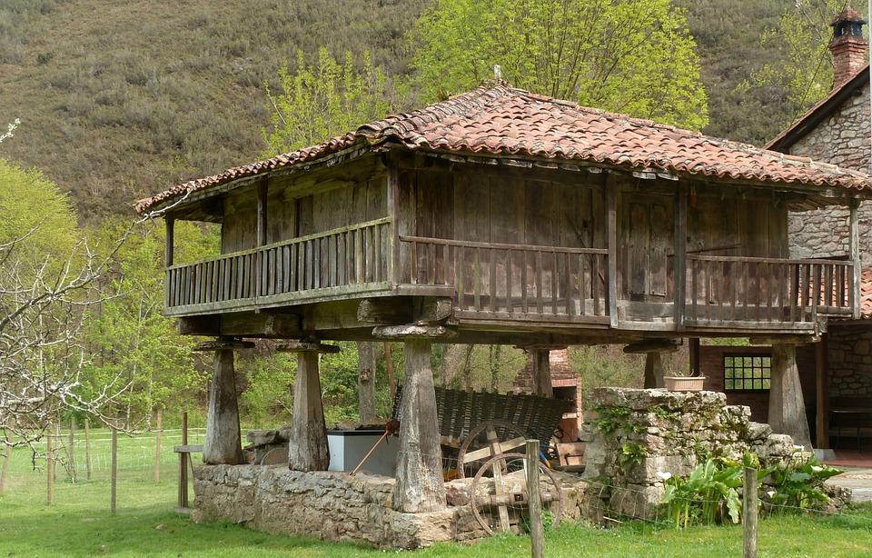 Granero campo asturias foto gratis en pixabay - Casa de campo asturias ...
