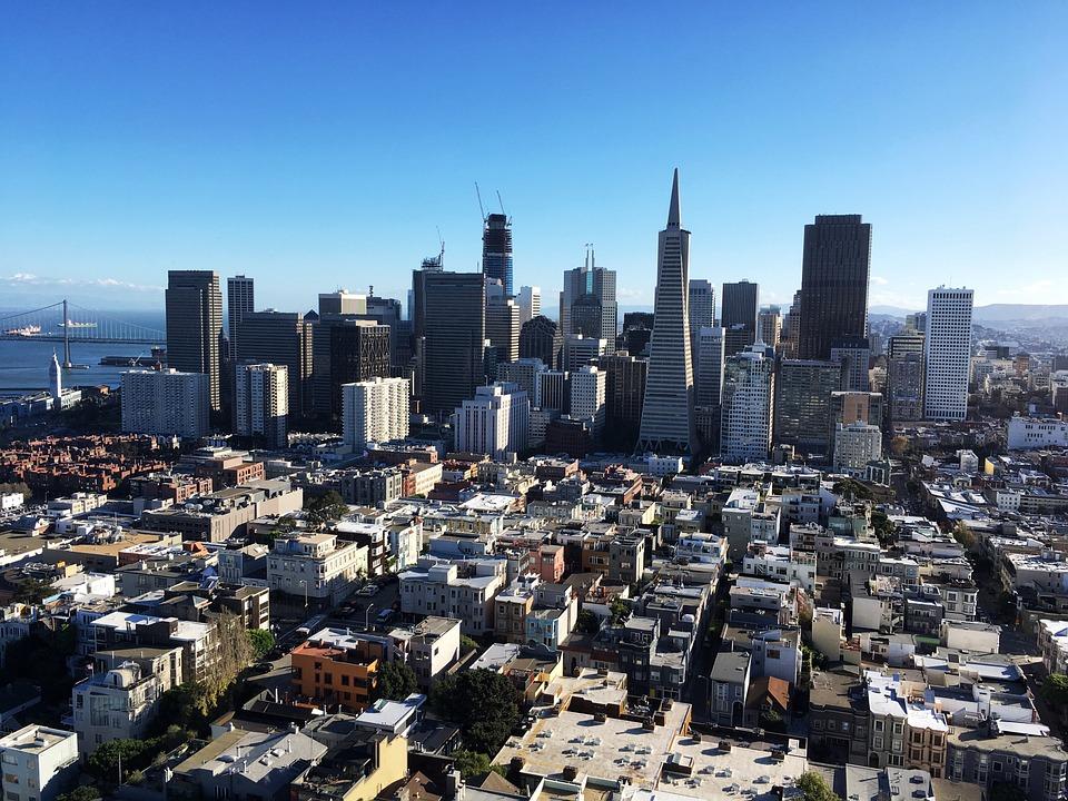 san francisco city california free photo on pixabay