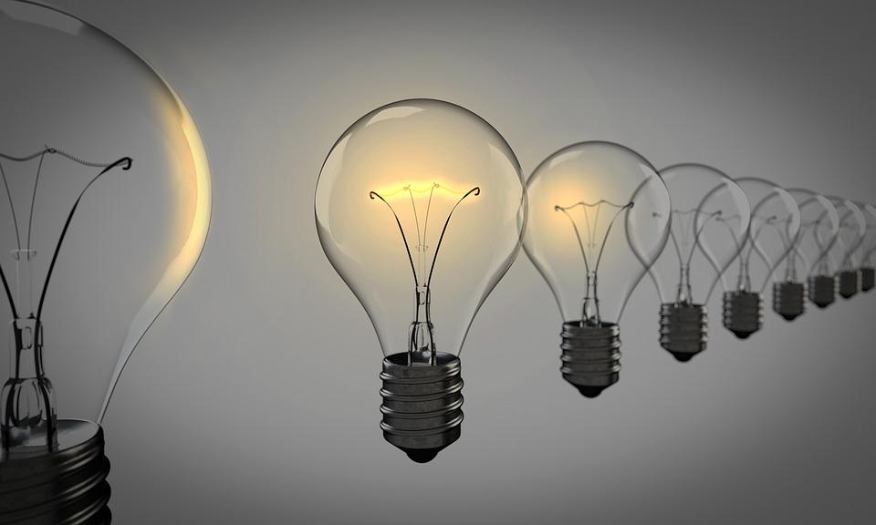 Gloeilampen, Gekozen, Gloeilamp, Licht, Groep, Idee