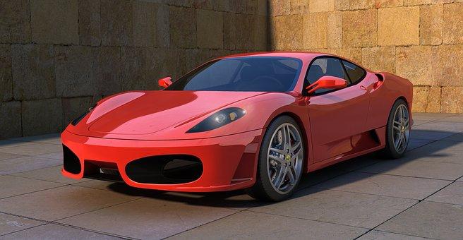 Ferrari, F430, Sports Car, Auto