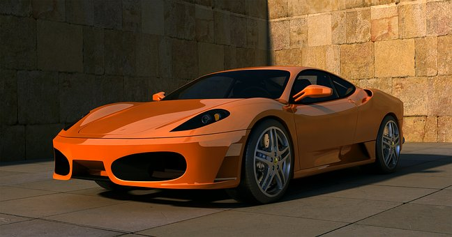 Ferrari F Sports Car Auto
