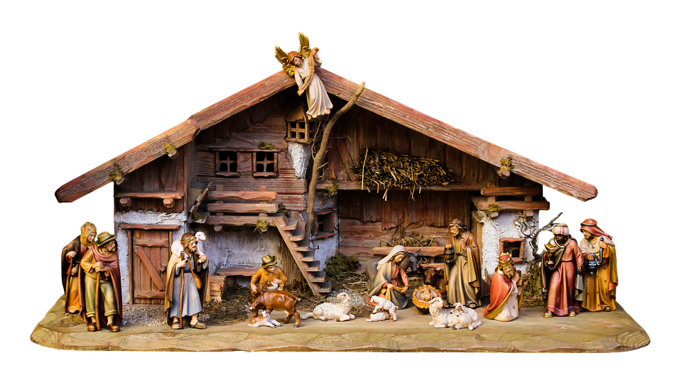 free photo christmas nativity scene crib free image on pixabay 1875885. Black Bedroom Furniture Sets. Home Design Ideas