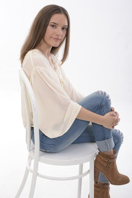 Free Photo: Beautiful, Teenage, Girl