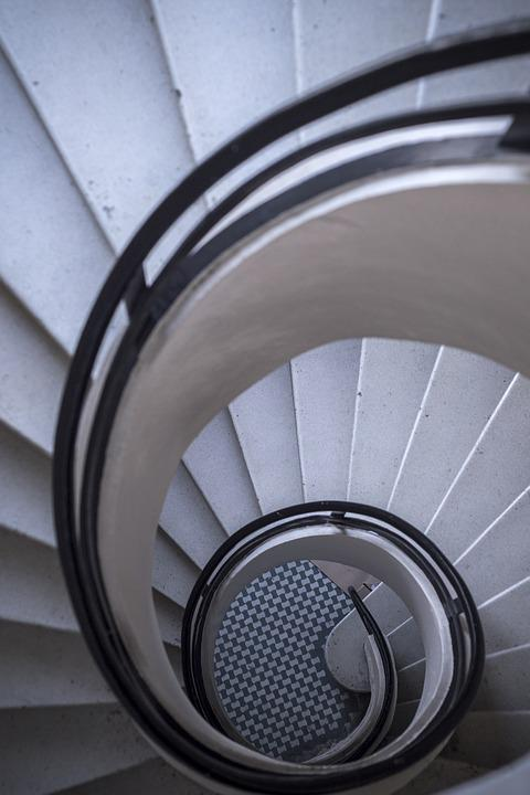 escaleras espiral escalera interior