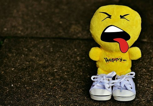 Smiley, Evil, Sneakers, Funny, Emoticon