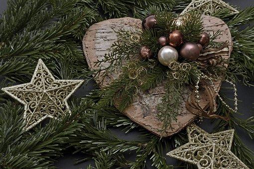 Kersthart, Kerstmis, Decoratie