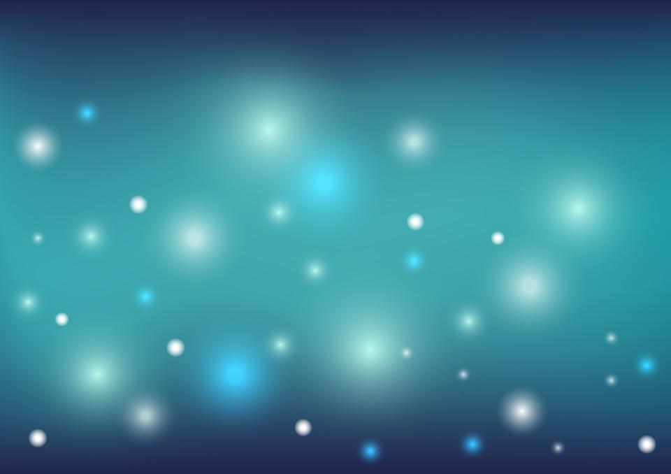 Green And Blue Christmas Lights