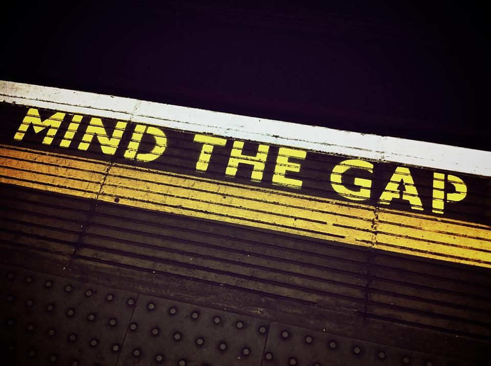 Mind The Gap, London, Underground, Transportation, Uk