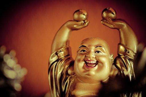 Будда, Счастливый, Теплый, Традиционные