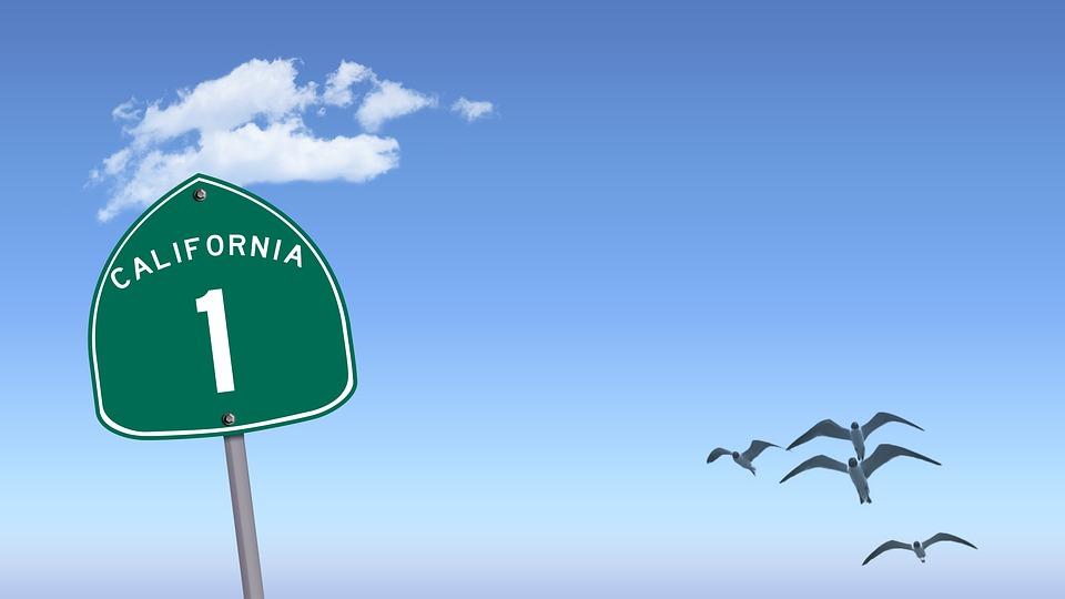 free illustration highway 1 california 1 highway free image