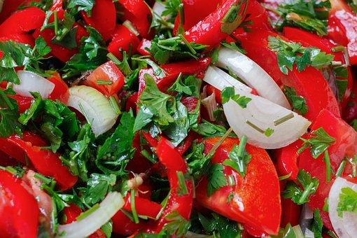 Salad, Healthy Eating, Vegetables