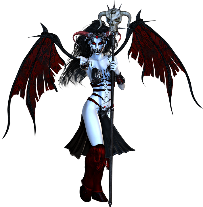 Free illustration Demon Devil Halloween Hell Free Image on