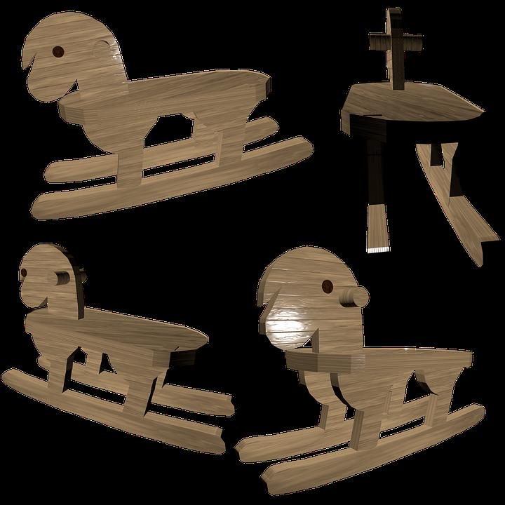 Koń Na Biegunach Drewna Drewniany Darmowy Obraz Na Pixabay
