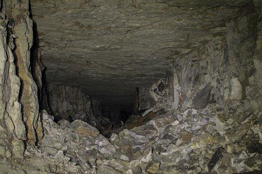 Cave, Gallery, Subterranean, Stones