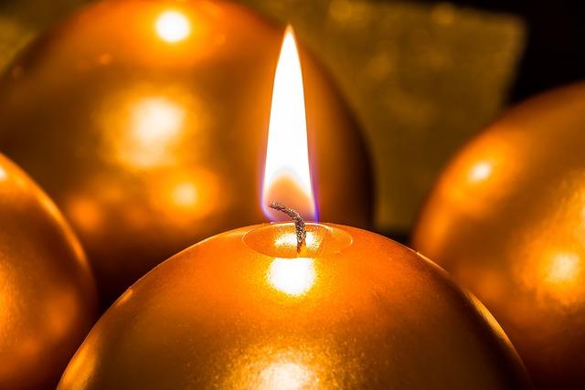 Flame Christmas Lights
