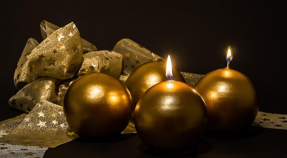 Advent, 2 Advent, Advent Ljusen, Jul Smycken, Ljus
