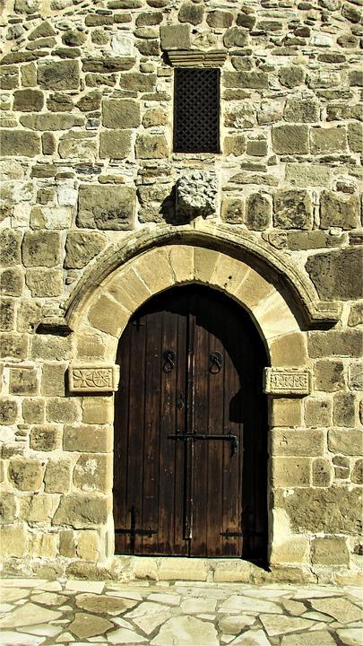 Panagia Tou Kampou, Church, Orthodox, Door, Entrance