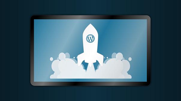 Wordpress, Marketing, Rocket, Tablet