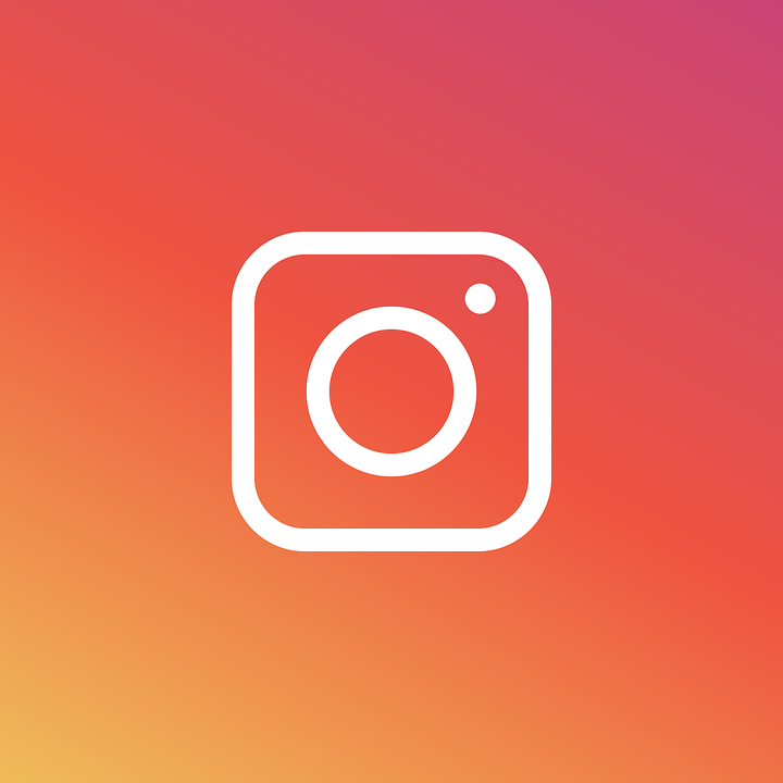 Instagram, Logo, Icon, Pictogram, Flat, Design