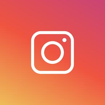 Instagram, Logo, Icon, Pictogram, Flat