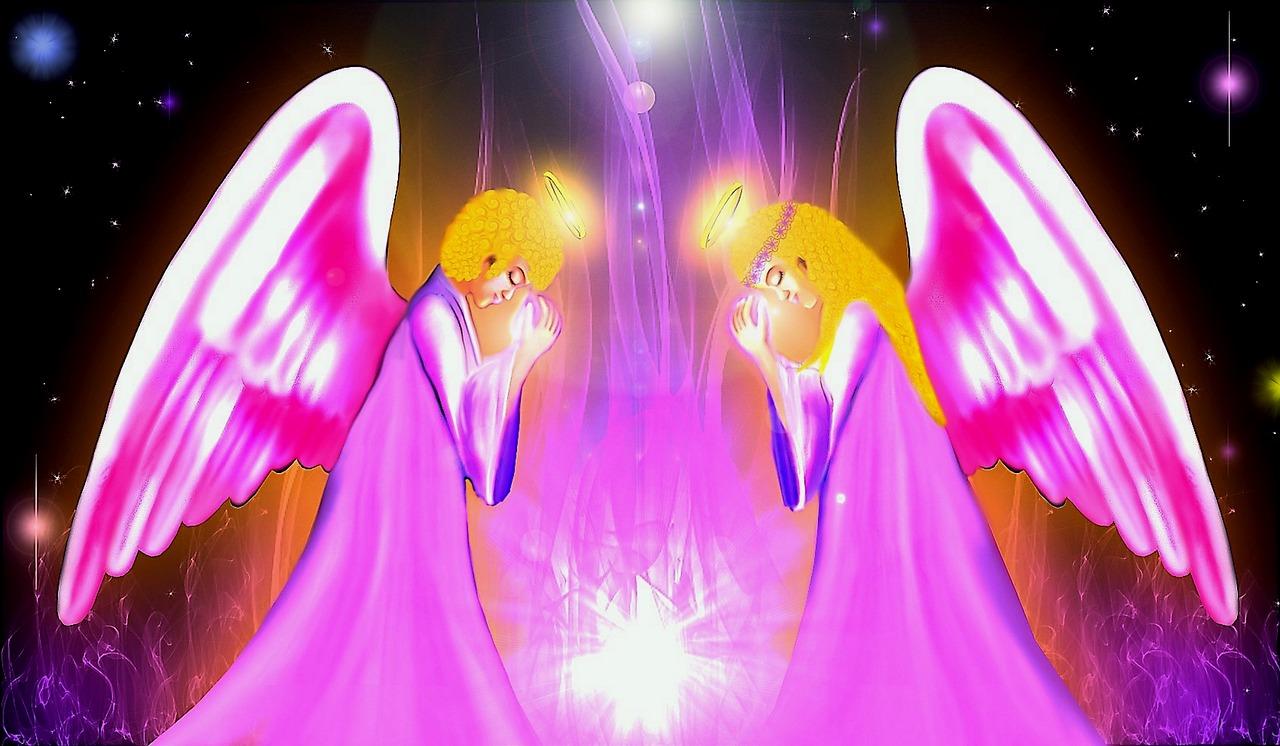 Встреча ангелов картинки