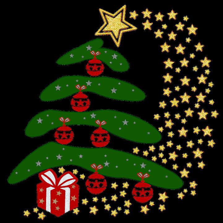 Albero Di Natale, Albero, Vacanze, Natale, Icona