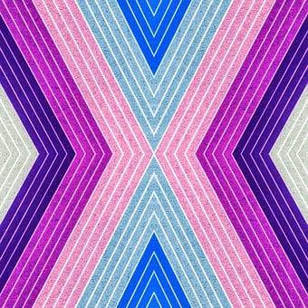Geometrischen, Textur, Faser, Schichten